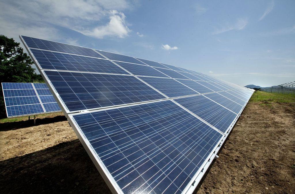 Schon 2012 investierte die Kommune in einen Solarpark. Foto: /Horst Rudel