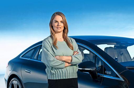 Die Frau, die den Mercedes-Stern strahlen lassen soll