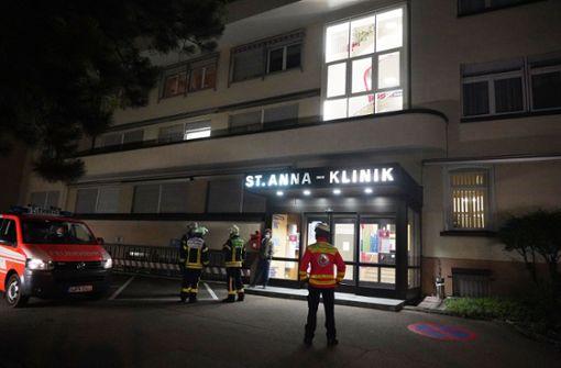 Rauchmelder in der St. Anna-Klinik schlägt Alarm