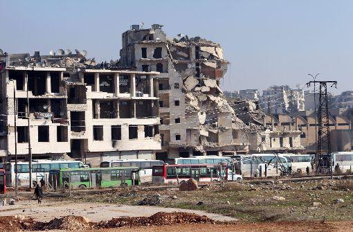Beobachter werden nach Aleppo gesandt