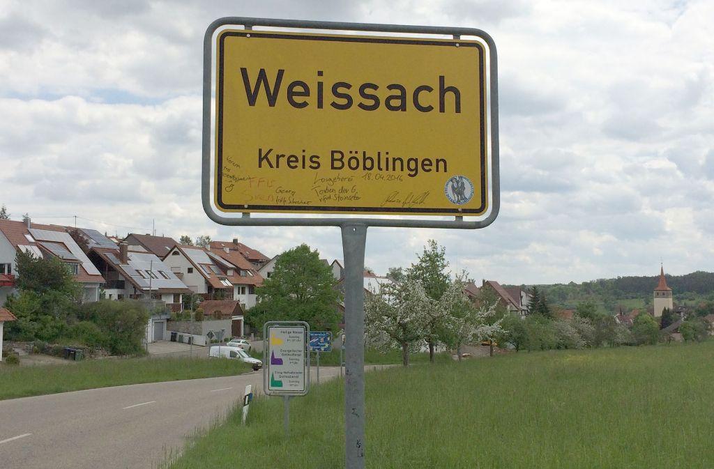 Weissach ist einer von fünf möglichen Erddeponie-Standorten im Landkreis Böblingen. Foto: LKZ