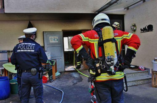Zwei Schwerverletzte bei Verpuffung – Rettungshubschrauber im Einsatz