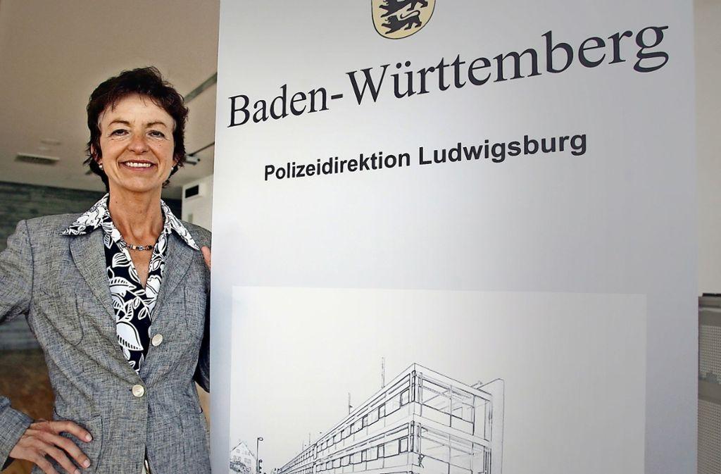2009 wird Mechthild Mayer Chefin der Ludwigsburger Kriminalpolizei. Sie ist landesweit eine von zwei Frauen auf einem solchen Führungsposten. Foto: factum/Archiv