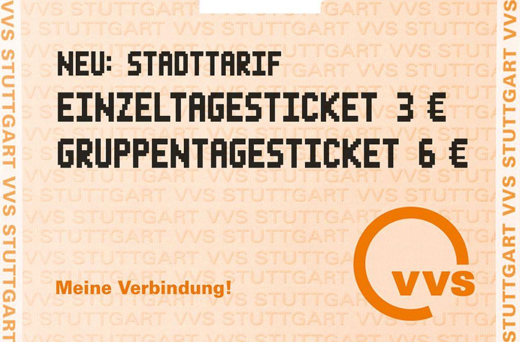 Das günstige Stadtticket stößt auf gute Resonanz. Foto: VVS/Horst Rudel
