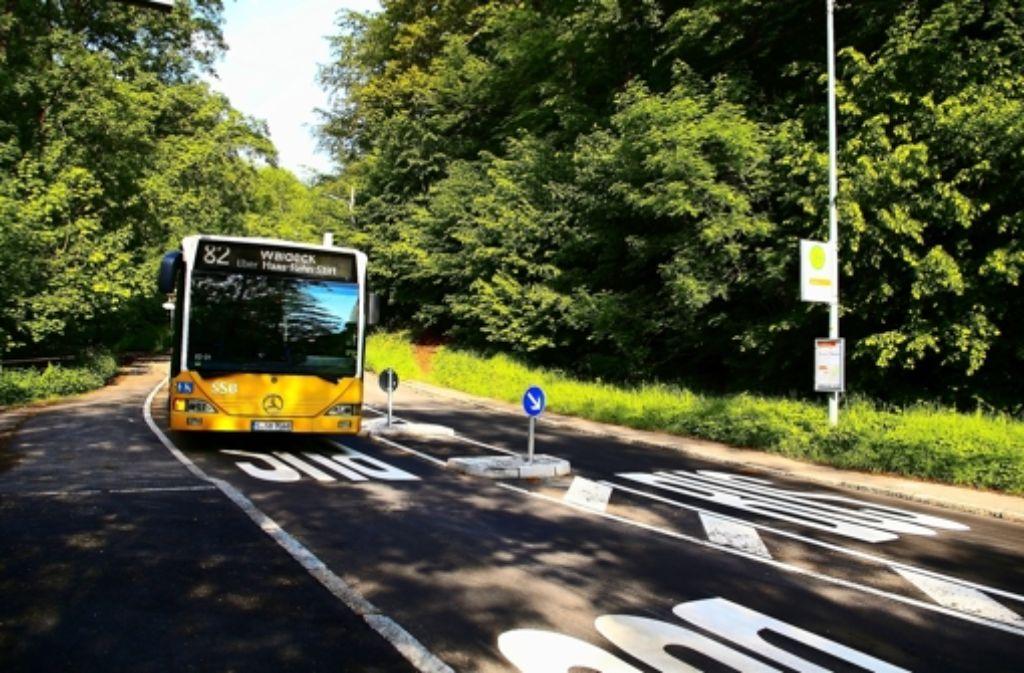Die Verkehrssituation an der Straße zwischen Kaltental und Dachswald hat sich trotz Tempo30 nicht verbessert. Foto: Alexandra Kratz