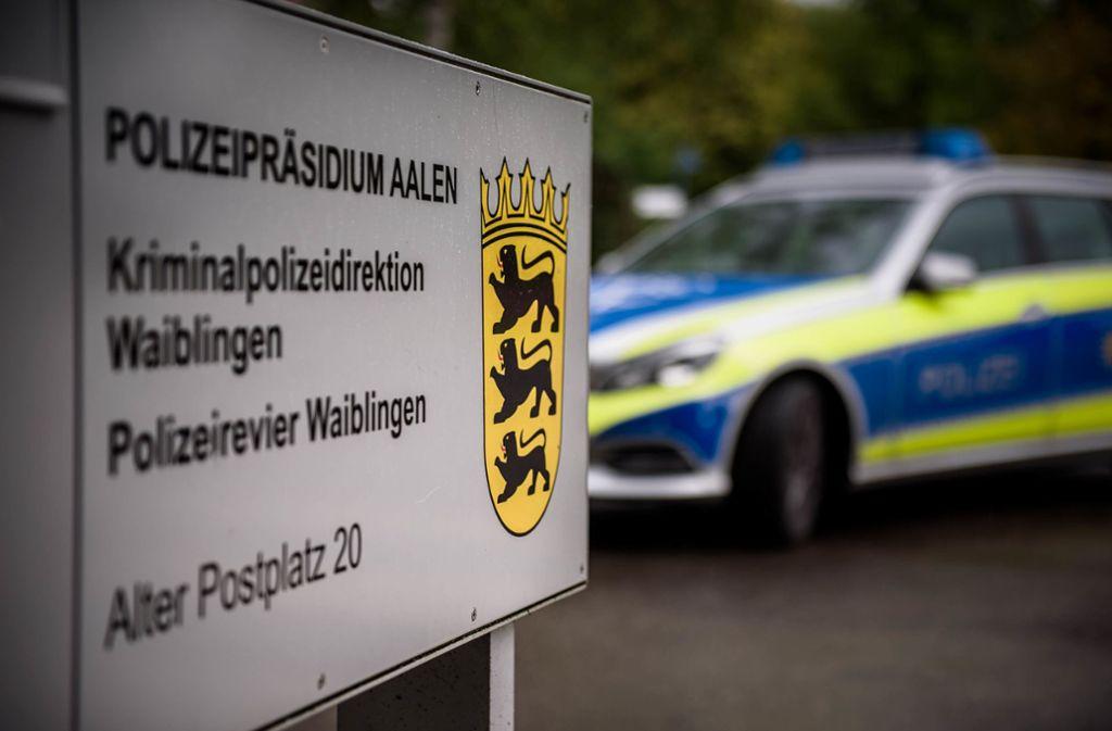 Die Kripo Waiblingen hat eine Sonderkommission eingerichtet. Foto: Weingand/StZN