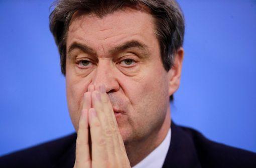 Markus Söder verliert laut Umfrage Zustimmung der Bayern