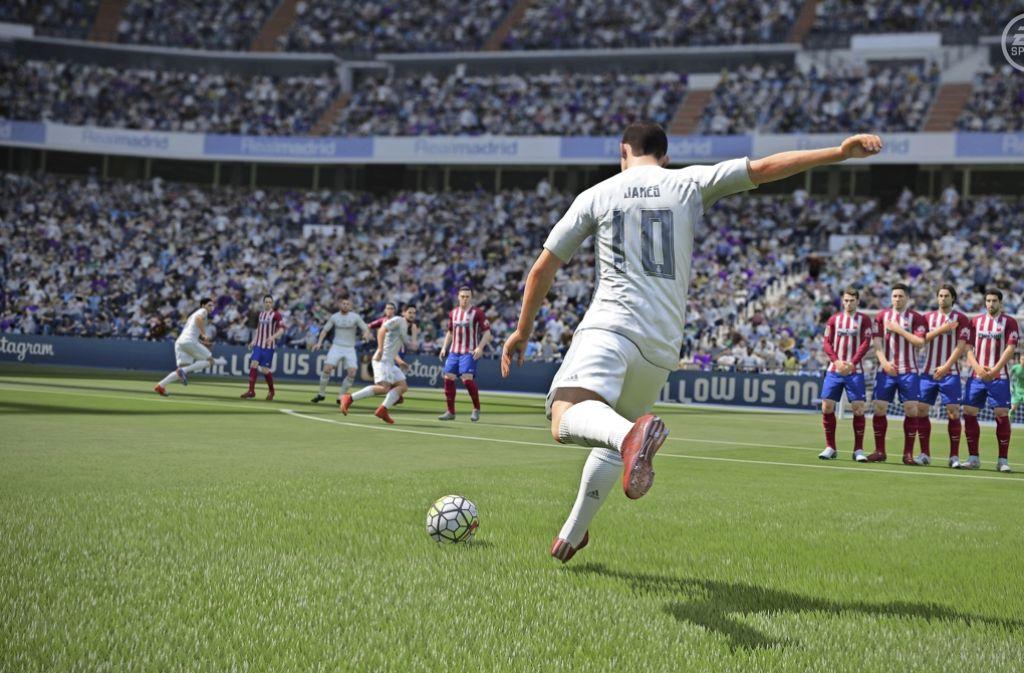 Die Fußball-Vereine haben den Markt Fußball am Computer erkannt. Foto: red