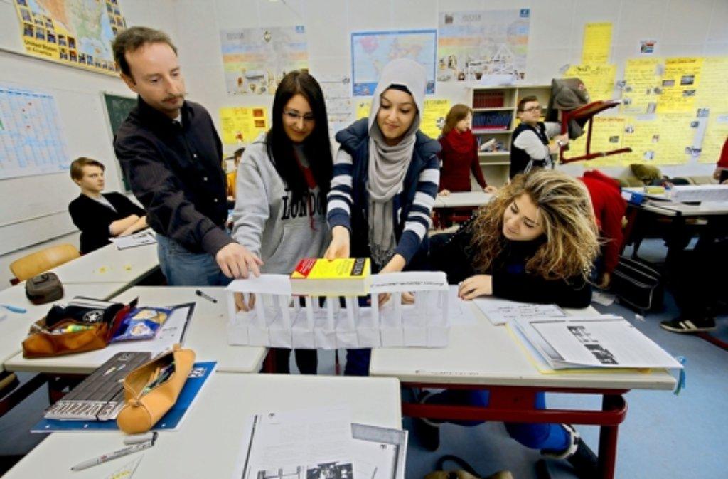 Zehnte Klasse: Beim Foto: factum/Granville