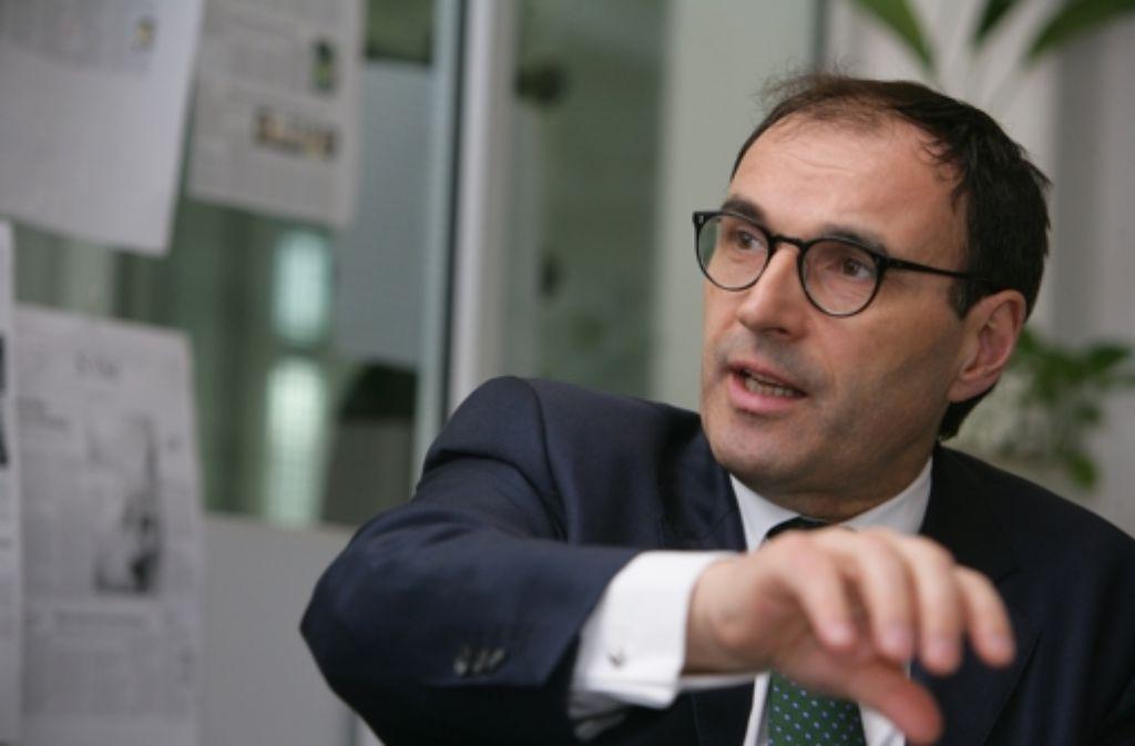 Bei der EnBW ist Andreas Renner jetzt zum Politikchef aufgestiegen, Foto: Achim Zweygarth