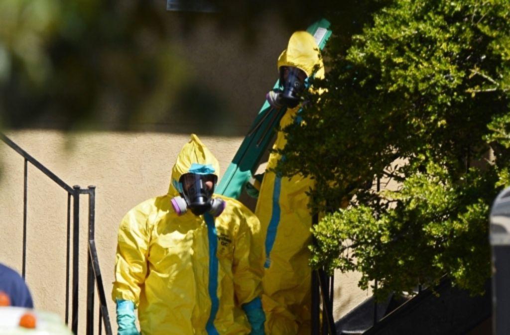 Der Kampf gegen Ebola scheint zu wirken. Foto: dpa