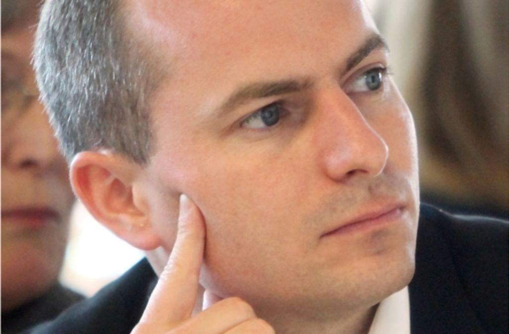 Matthias Pröfrock, CDU-Obmann in der NSU-Enquetekommission Foto: dpa