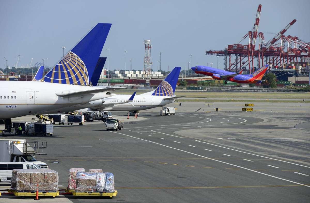 New Yorks internationaler Flughafen Foto: imago images/Joerg Boethling/Joerg Boethling via www.imago-images.de