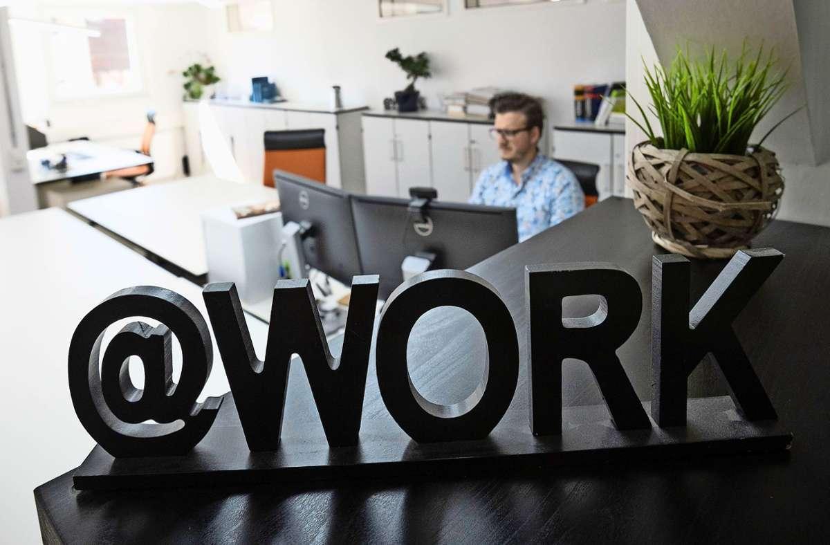 Coworking in Waldenbuchs Altstadt: Das und mehr schwebt denen vor, die ihre Ideen jetzt bei einem Pitch mit anderen messen. Foto: Lichtgut/Leif Piechowski