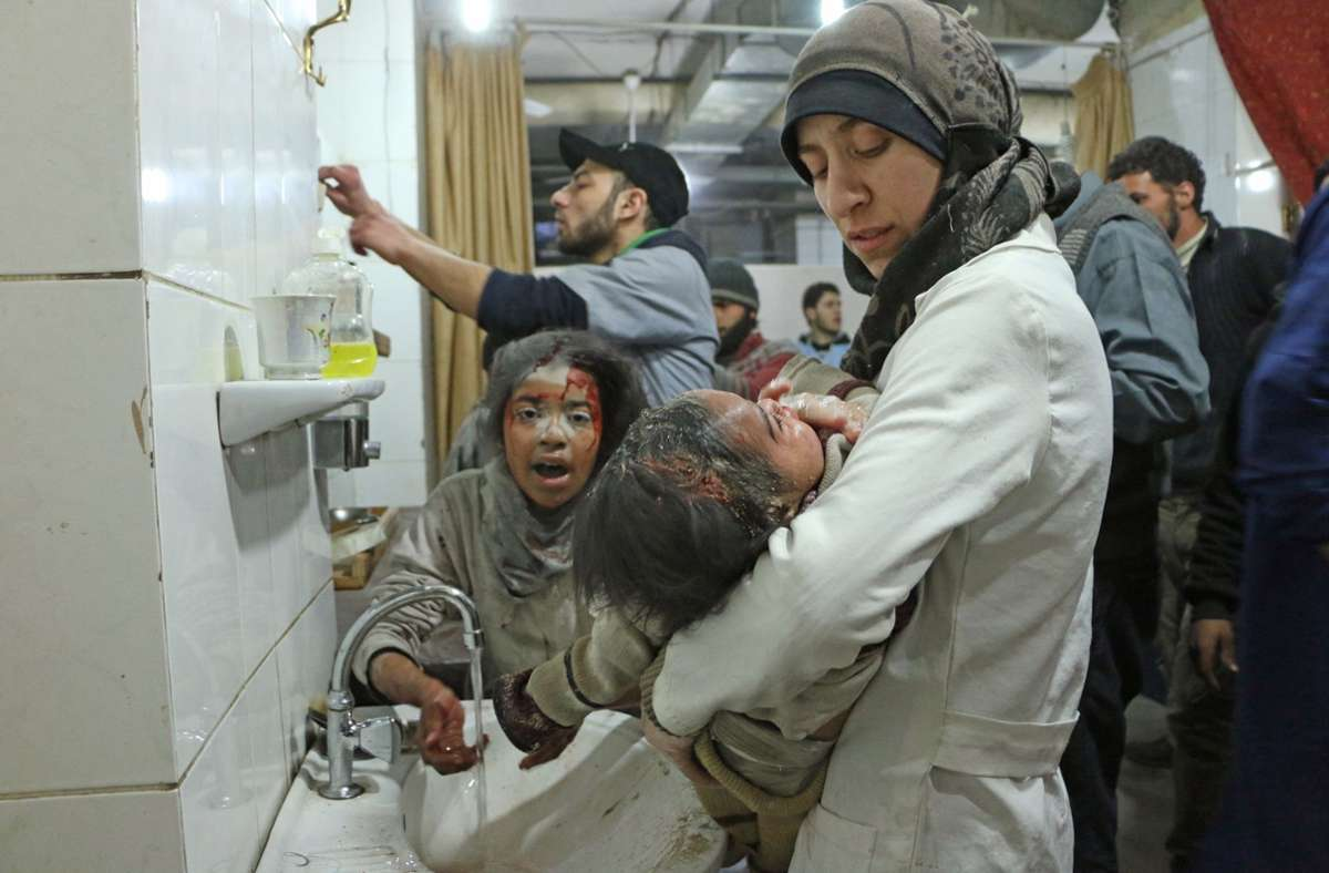 """Der Dokumentarfilm """"The Cave"""" zeigt die Opfer des syrischen Bürgerkriegs.Foto:SWR Foto:"""
