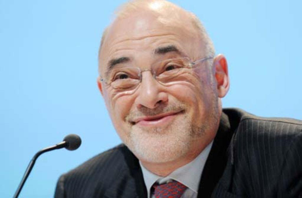 Leo Apotheker, Chef von Hewlett-Packard, will die Firma komplett umstrukturieren. Foto: dpa