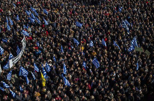 """Protest auf Flüchtlingsinseln: """"Wir wollen unser Leben zurück!"""""""