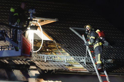 Sechs Verletzte bei Wohnhausbrand
