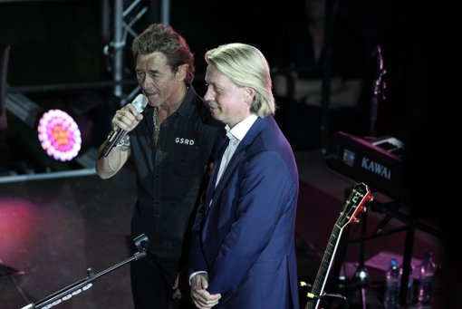 peter maffay singt f r eine gute sache in fellbach stuttgarter zeitung. Black Bedroom Furniture Sets. Home Design Ideas