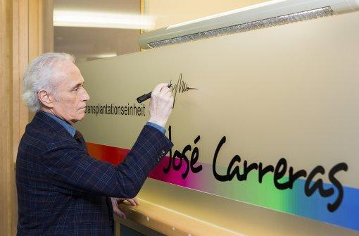 """Klinik-Abteilung heißt jetzt """"José Carreras"""""""