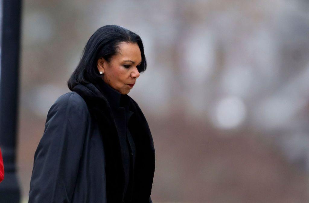 Die frühere Außenministerin Condoleezza Rice  Foto: AFP