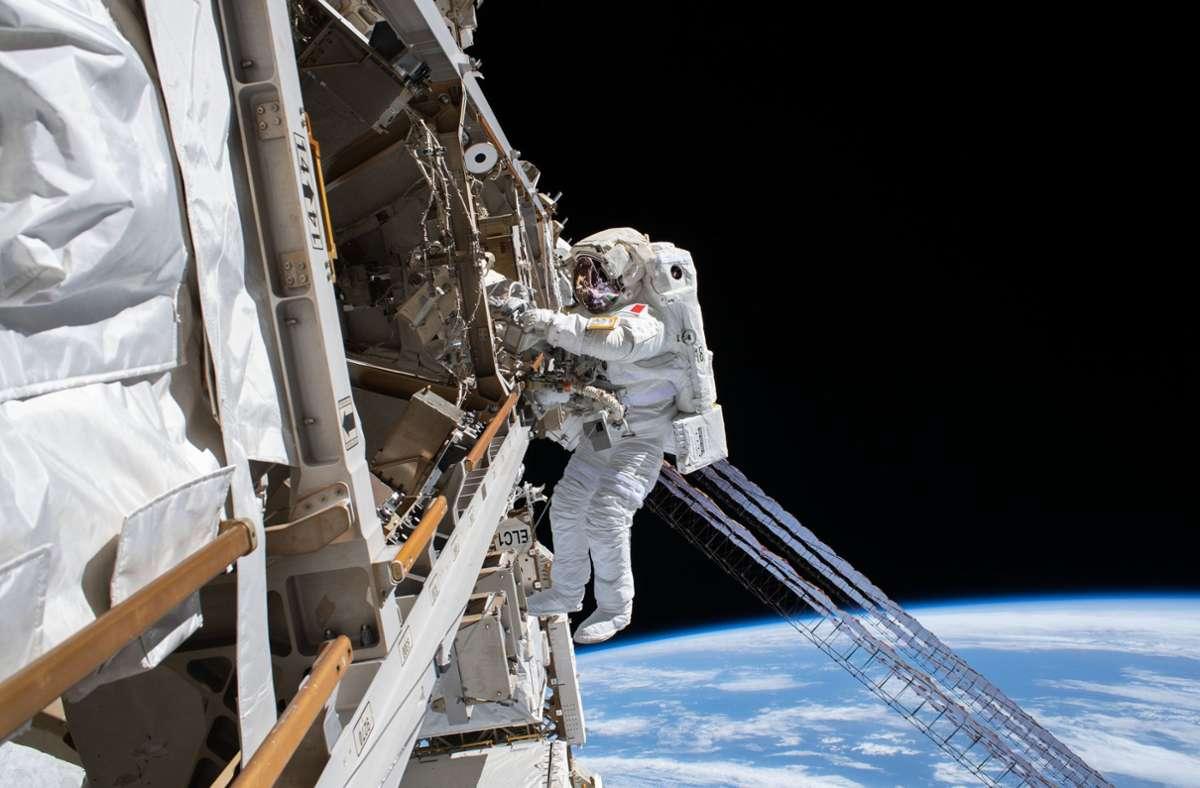 Die Bewerbungsfrist für Astronauten endet am 18. Juni. Foto: dpa/NASA