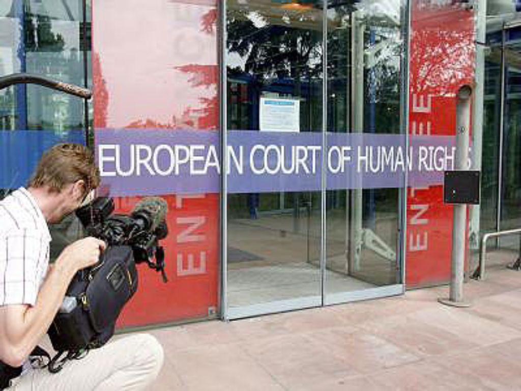 Der Europäische Gerichtshof für Menschenrechte in Straßburg Foto: dpa
