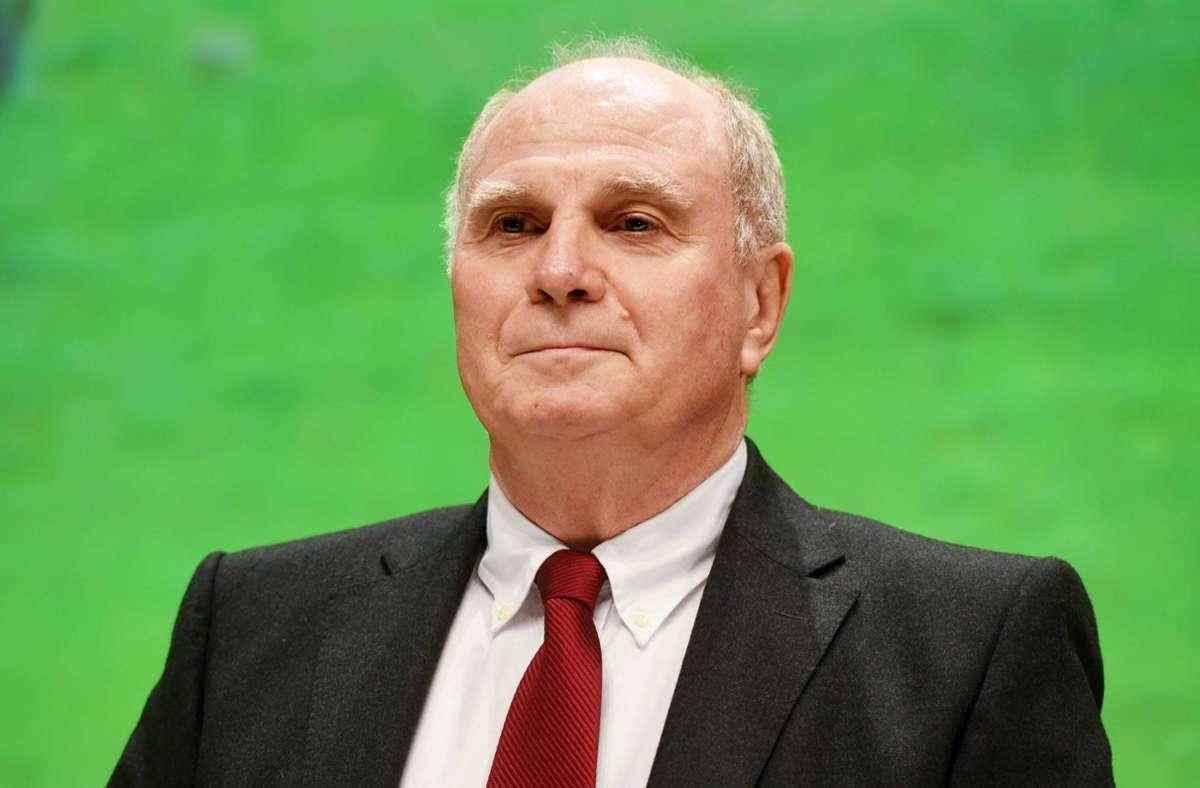 Uli Hoeneß hat Joachim Löw Personaltipps gegeben. Foto: dpa/Tobias Hase