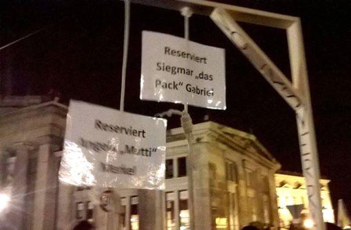 """Verkauf des """"Pegida-Galgens"""" untersagt"""