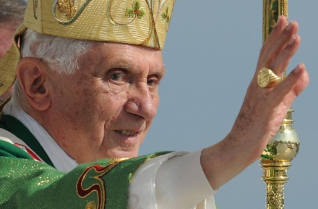 Papst Benedikt XVI. hat an Weihnachten für Frieden im Nahen Osten gebetet. Foto: dapd