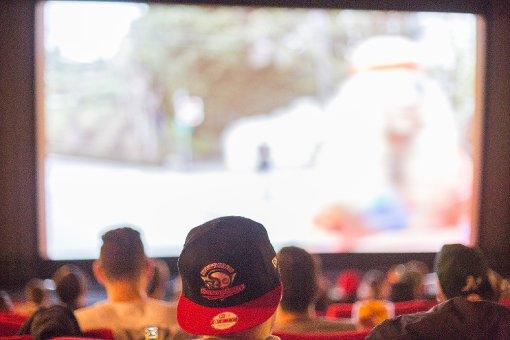 750 Fans verfolgen den Super Bowl
