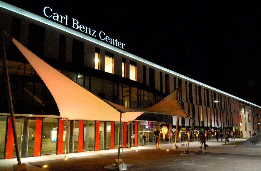 Die Carl-Benz-Arena ist ein Veranstaltungszentrum. Foto: Werkfoto (Archiv)