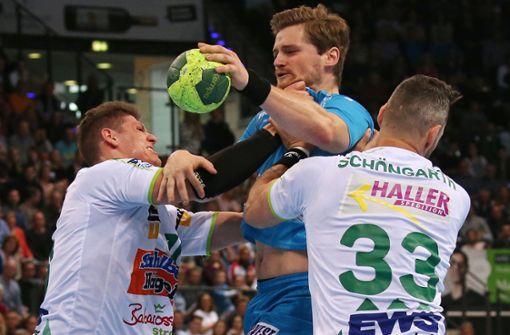 Handball-Asse  im Vollgas-Modus