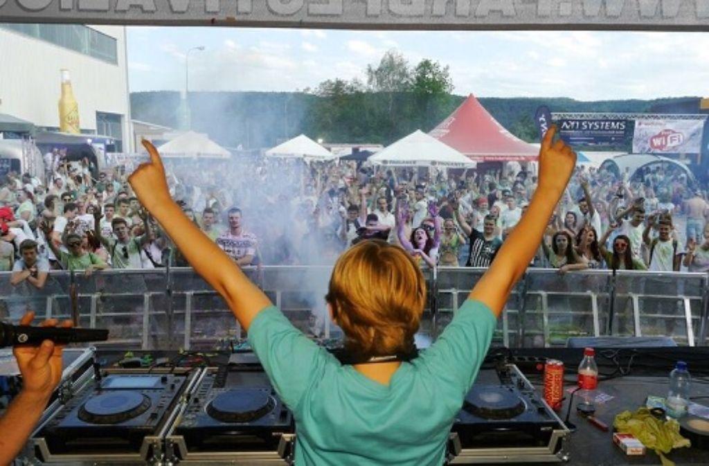 Damon Wick gilt als Deutschlands jüngster DJ. Foto: privat