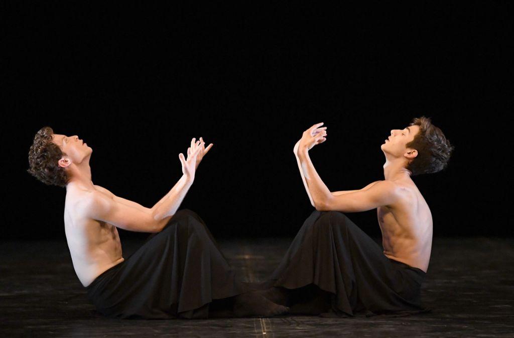 """""""Meditative State"""", eine Choreografie der  Schülerin Tabitha Dombroski Foto: Stuttgarter Ballett"""
