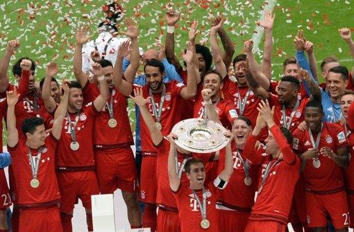FC Bayern feiert 25. Meisterschaft