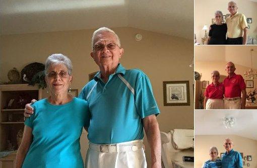 Enkel macht verliebte Großeltern zu Stars im Netz