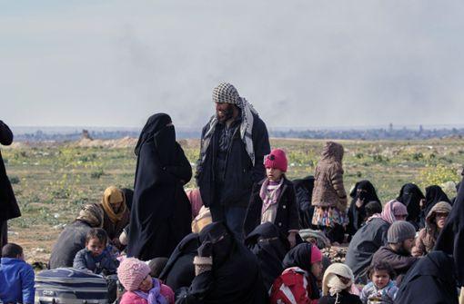 Die schwierige Rückkehr  der IS-Anhänger