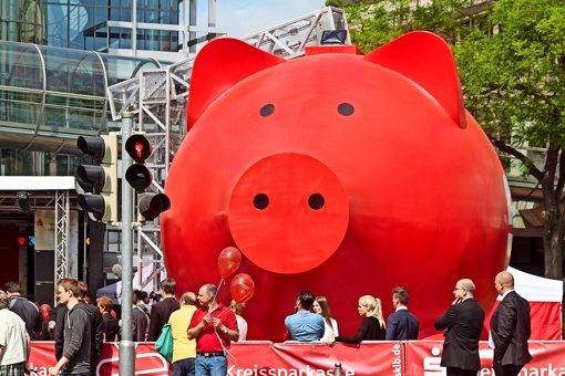 Ein schwäbisches Riesenschwein