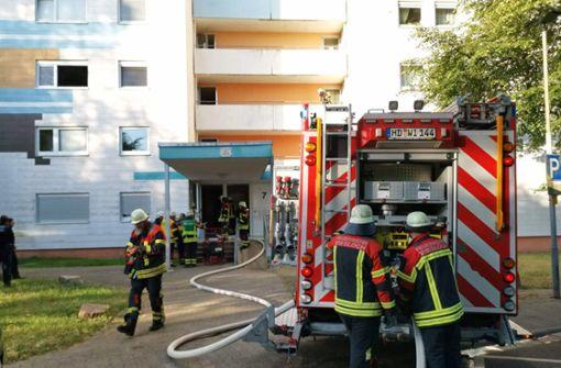 Neunstöckiges Hochhaus wegen Rauchs geräumt
