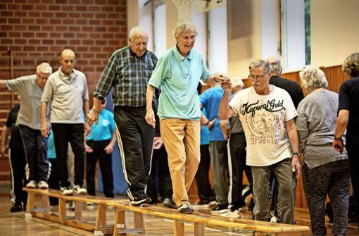 Gymnastikhalle für Sportler mit Handicap