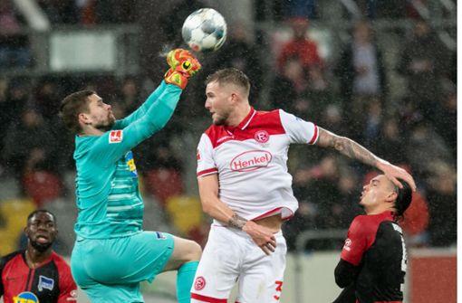 Furiose Aufholjagd der Hertha: Nach 0:3 noch 3:3 in Düsseldorf