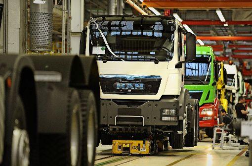 VW steuert mehr Gewinn mit Lastwagen   an