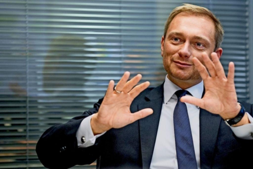 Christian Lindner will, dass die Selbstbespiegelung seiner Partei bald ein Ende hat. Foto: dpa