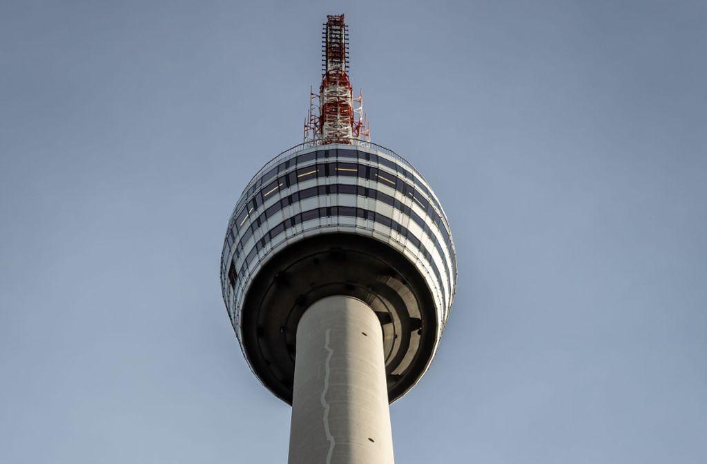 Der Fernsehturm ist das Stuttgarter Wahrzeichen. Foto: Lichtgut/Julian Rettig