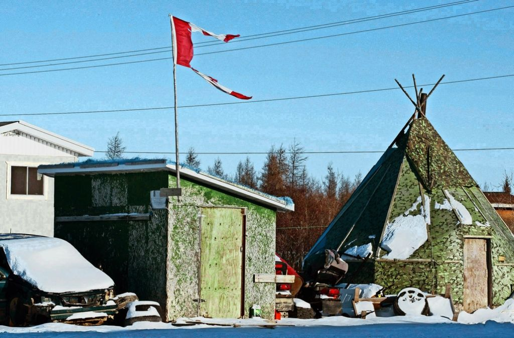 Tristesse in Attawapiskat: hier wollten sich elf Jugendliche und sogar Kinder gemeinsam töten. Foto: AP
