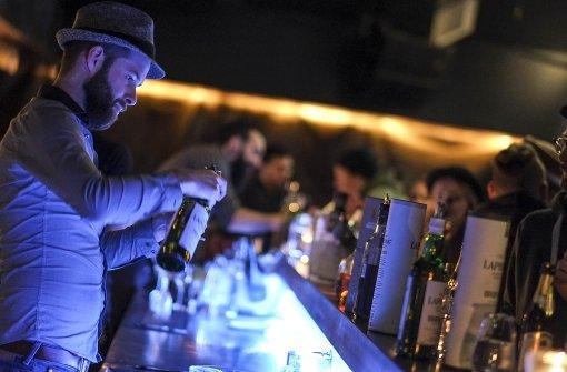 Whisky-Tasting in der Bar Fou Fou
