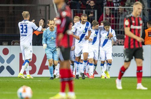 Bayer Leverkusen blamiert sich  gegen den Karlsruher SC