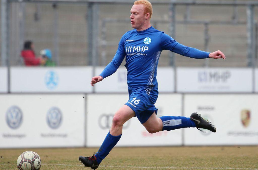 Leander Vochatzer wird nicht mehr für die Stuttgarter Kickers auflaufen. Foto: Pressefoto Baumann/Julia Rahn