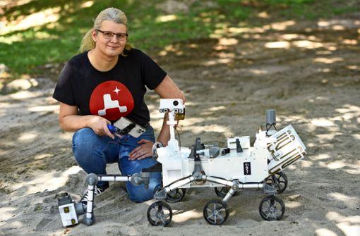 Tüftlerin baut Mars-Rover der Nasa nach